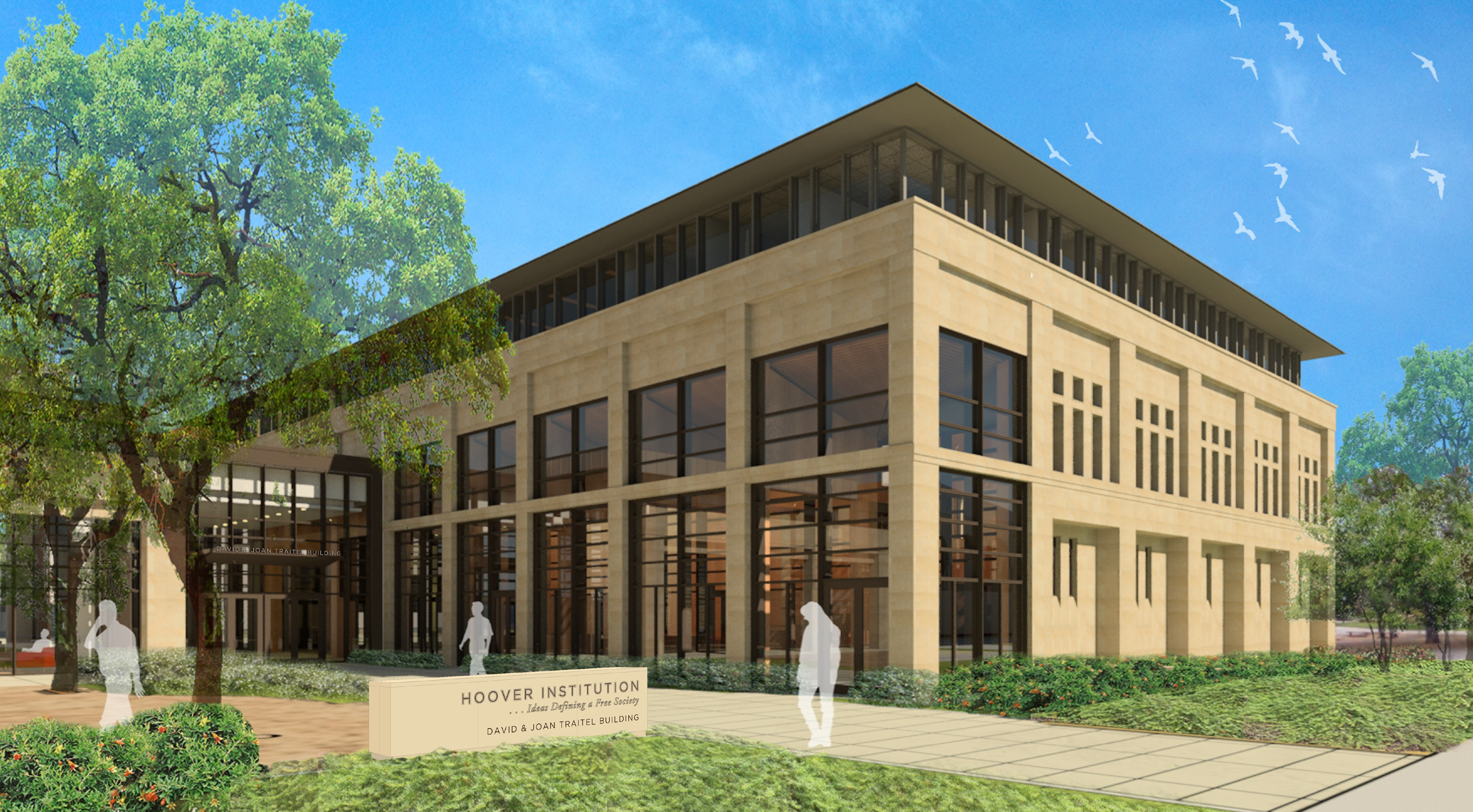 david and joan traitel building hoover institution