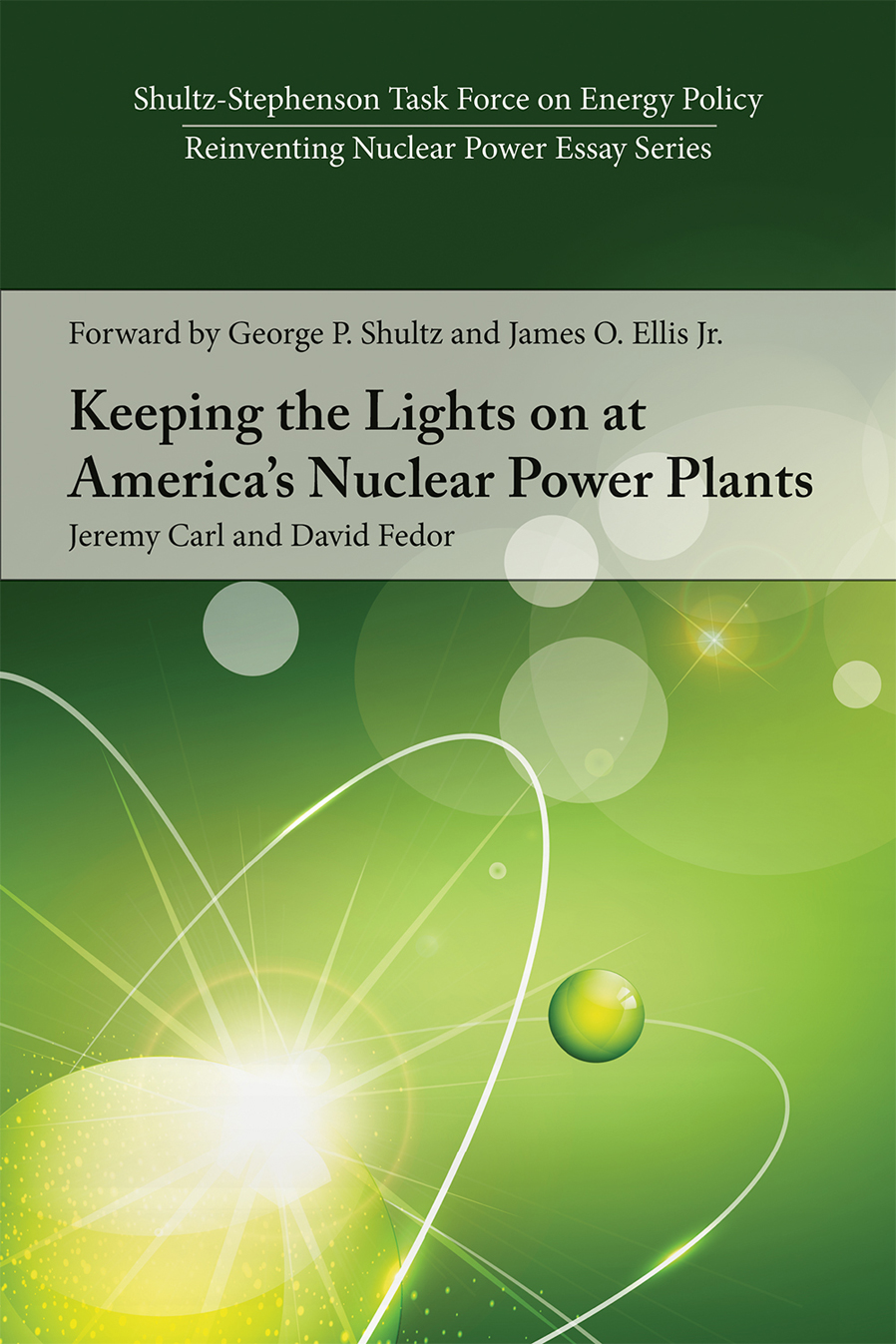 reinventing nuclear power hoover institution essay series
