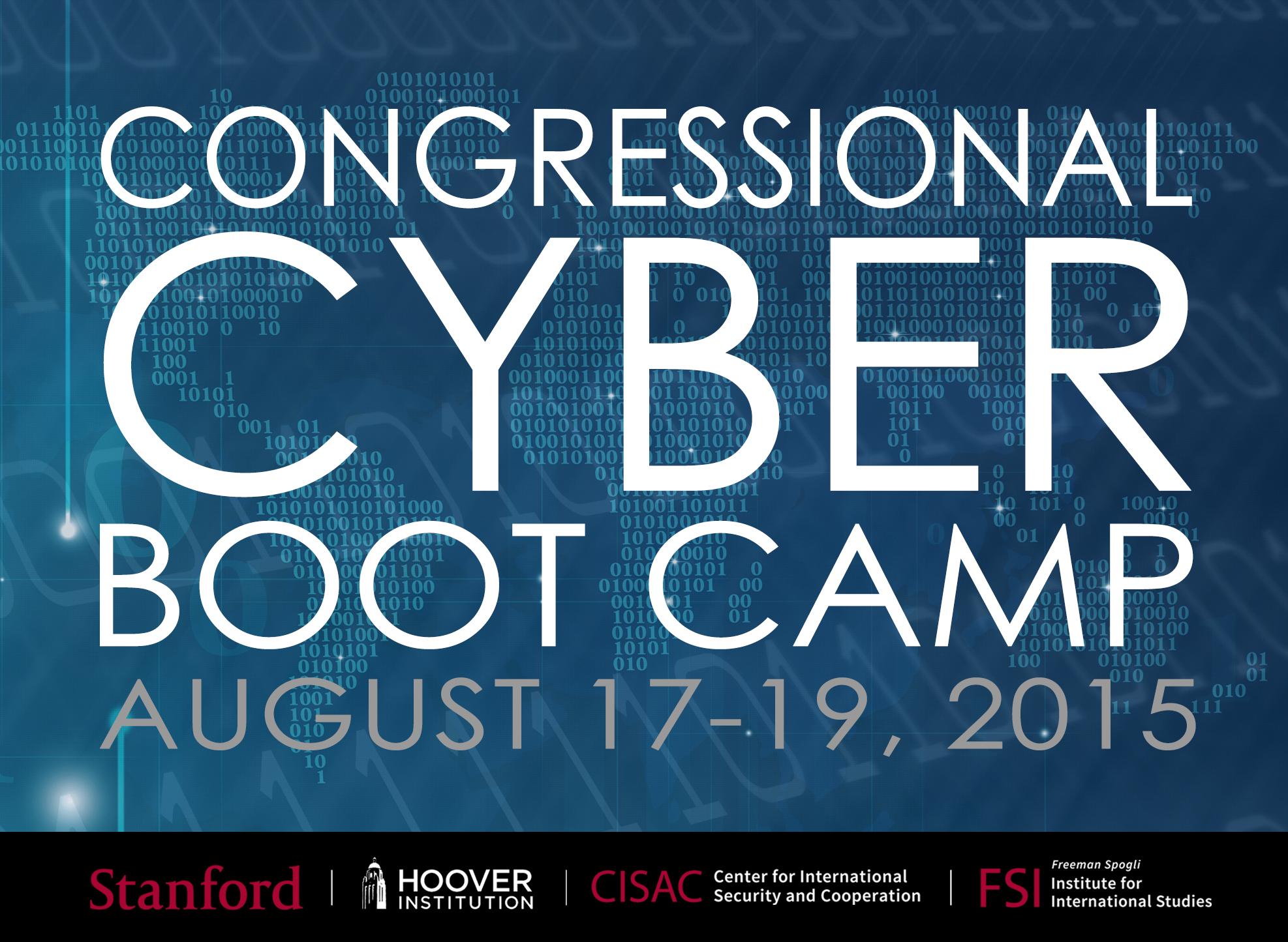 Stanford Hosts Second Annual Congressional Cyber Boot Camp