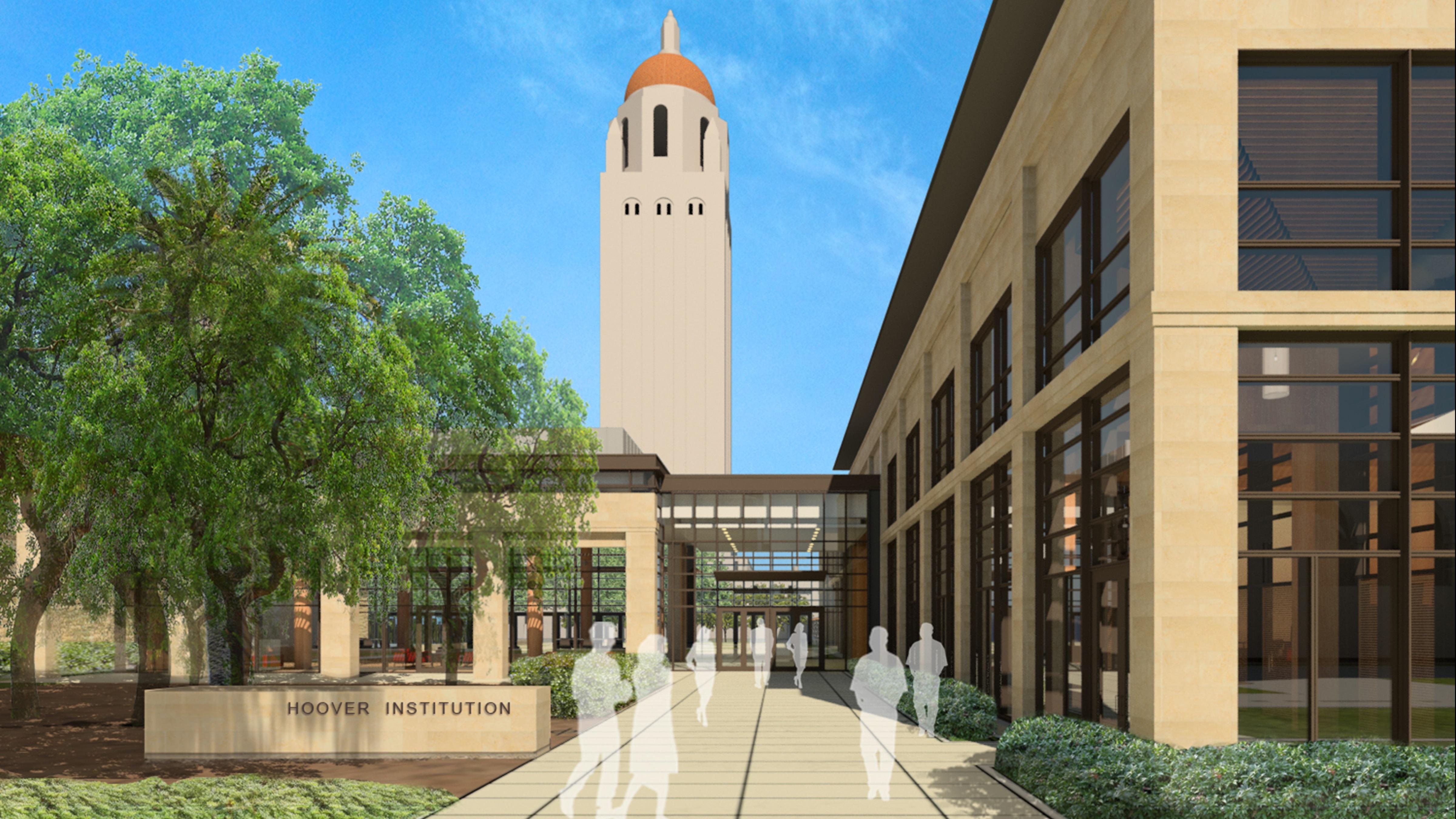 Groundbreaking Ceremony Held For New Hoover Institution