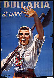 Bulgaria at work (Poster collection, BU 8, Hoover Institution Archives)