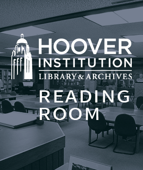 Hoover Institution Library & Archives Reading Room