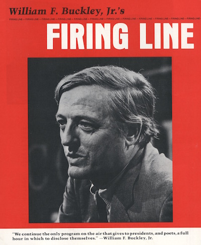 Firing Line picture of William F. Buckley Jr.