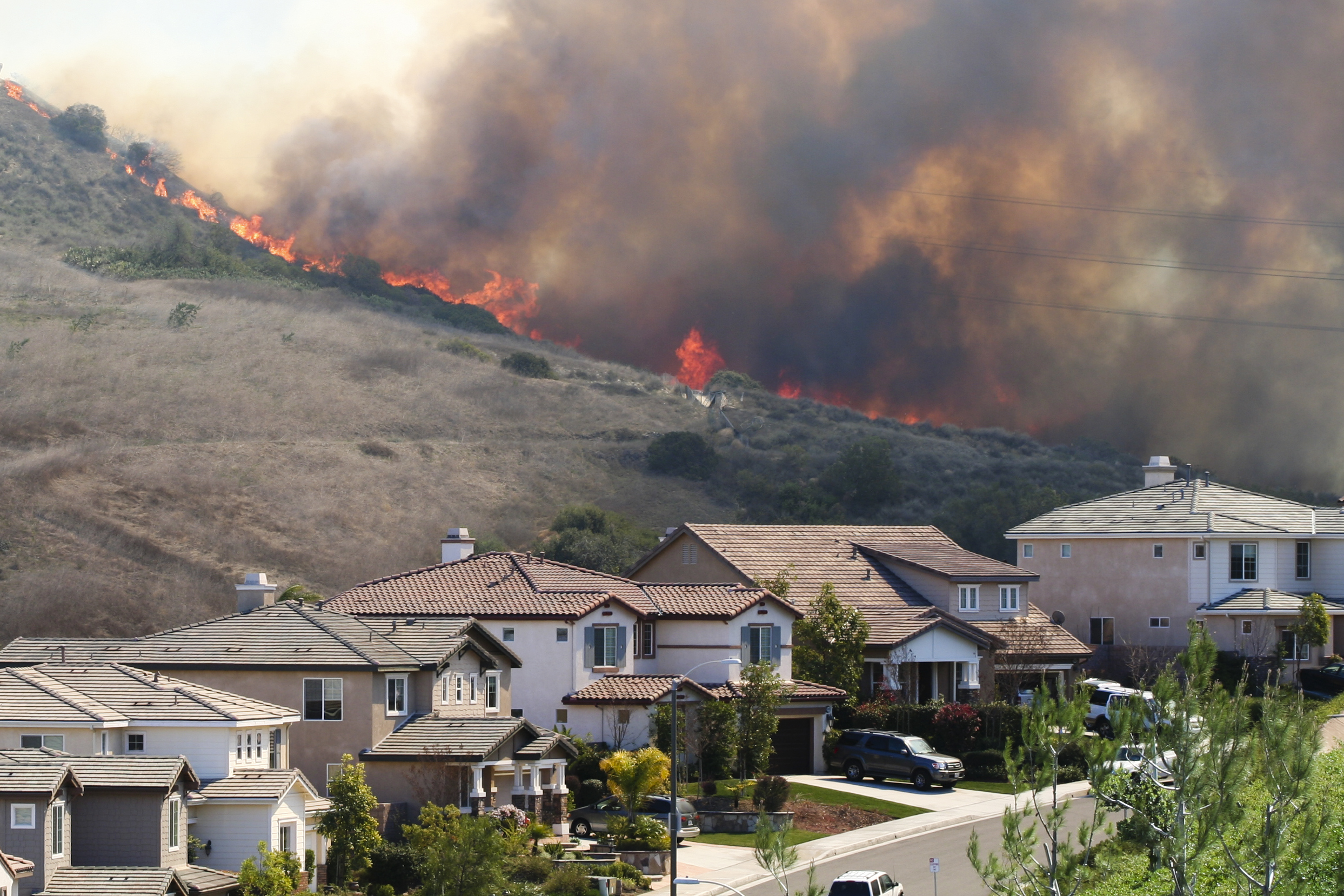 "a new normal"": california's increasing wildfire risk and"