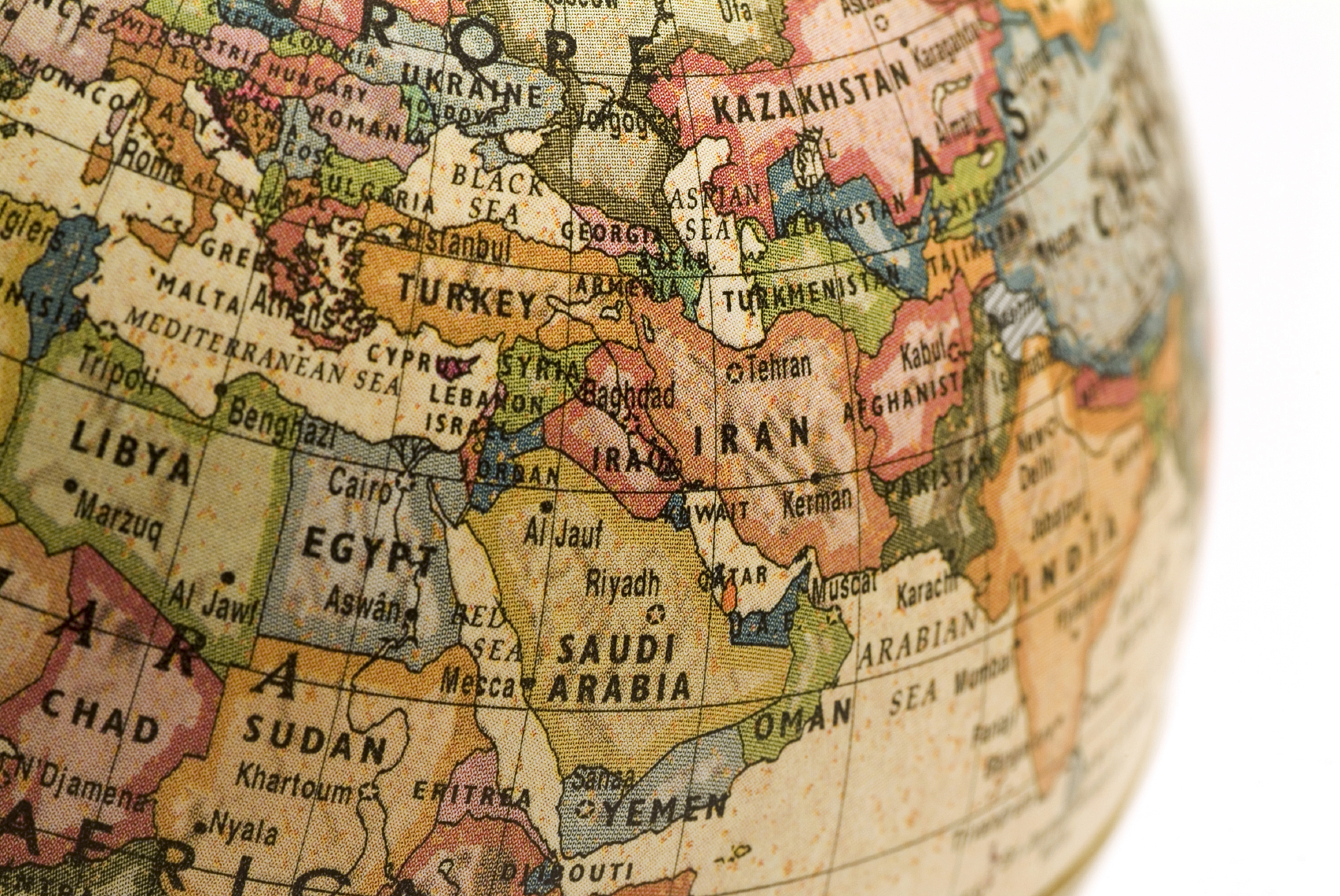 Ten Proposals On The Middle East For The New US Administration - Map us bases middle east