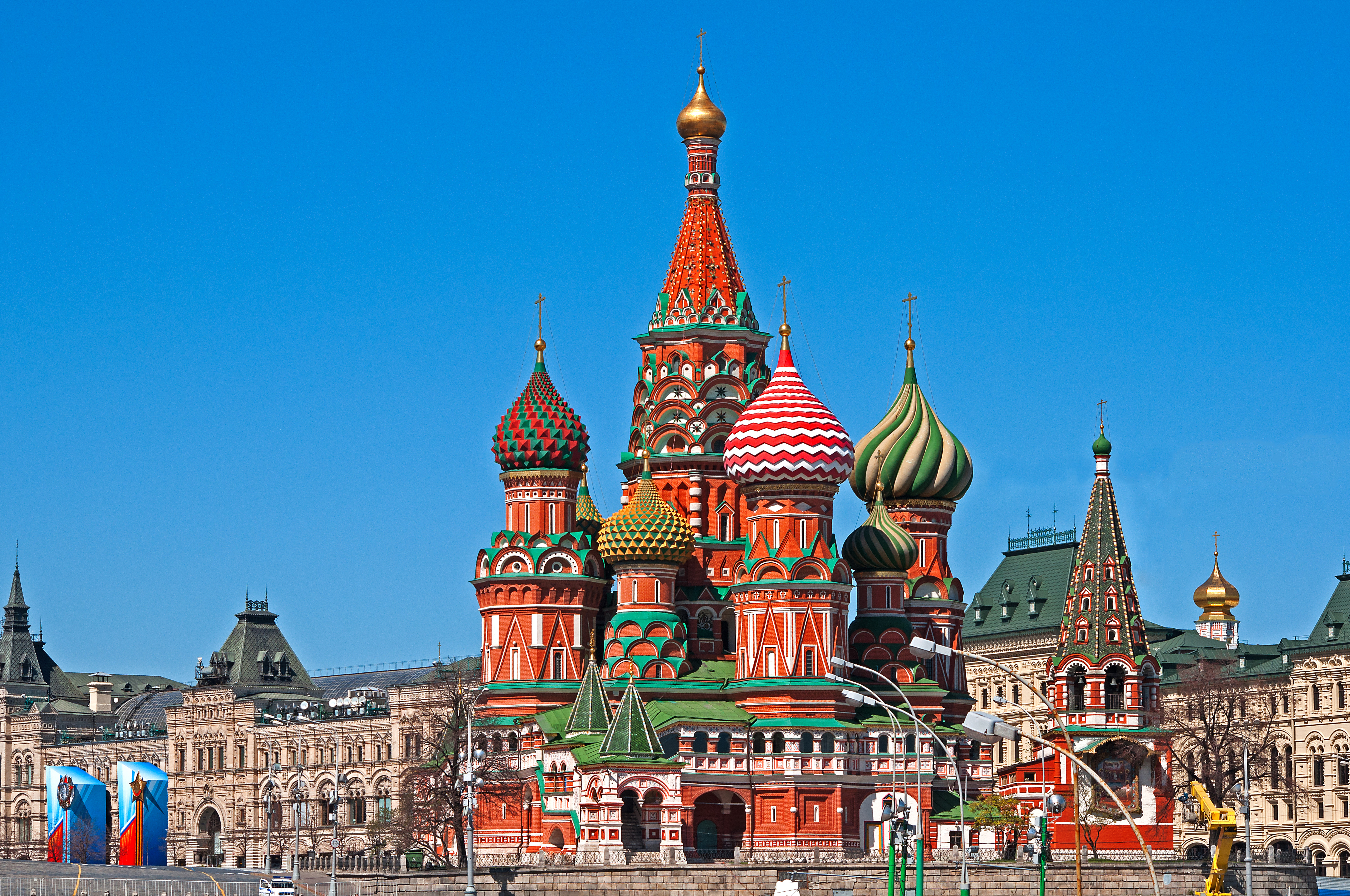 St Basil\u0027s Cathedral, Moscow [8,576x5,696] : HI_Res