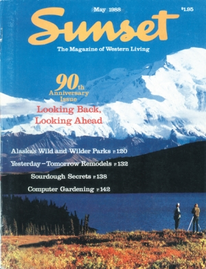 Sunset magazine 90th anniversary issue - May 1988