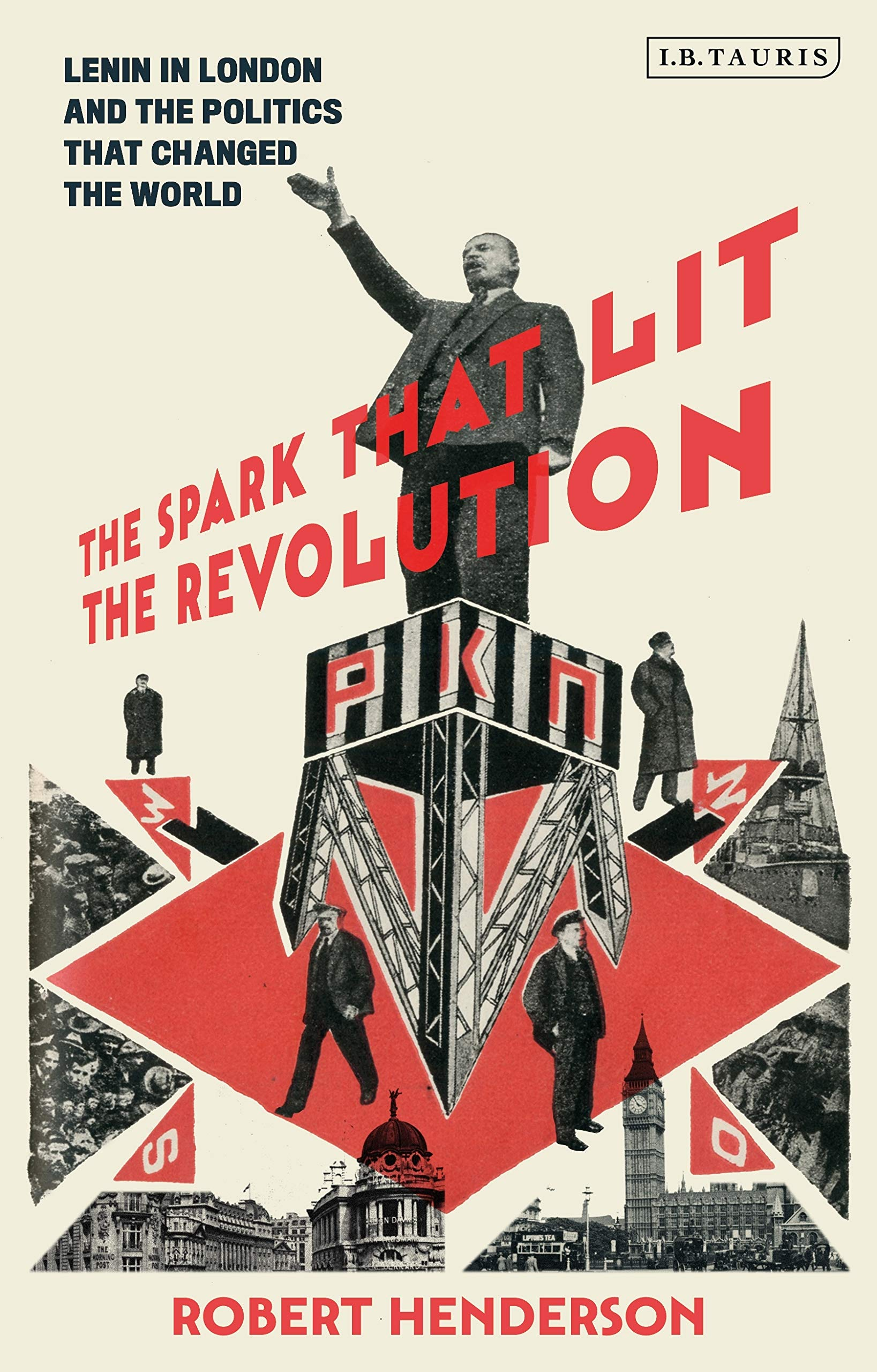 cover of the spark that lit the revolution