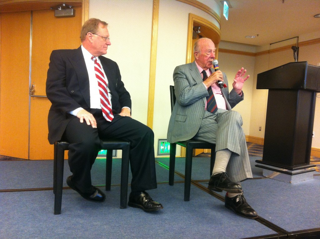 Mr. George P. Shultz announces Hoover task force report on California energy policy