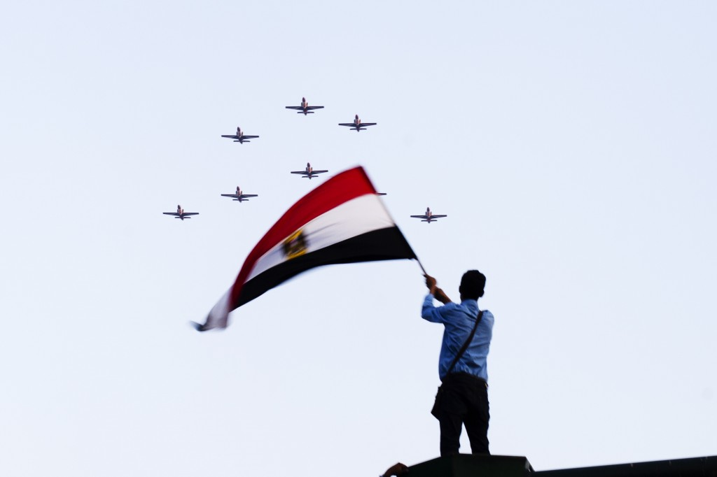 Crowds gather in Tahrir Square in support of 'Second Revolution'