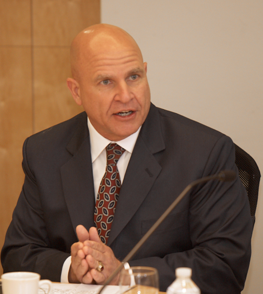 Brigadier General H. R. McMaster visits the Hoover ...