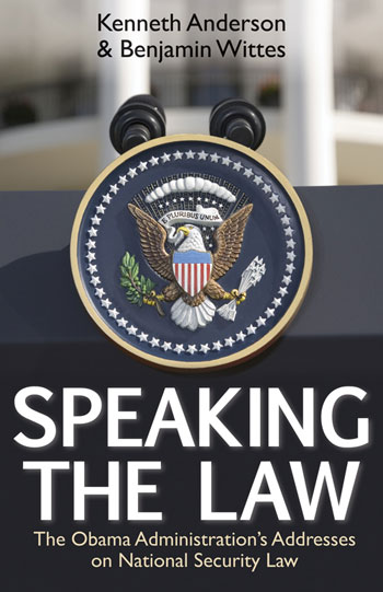 Speaking the Law book cover