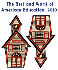 Best and Worst in American Education, 2010