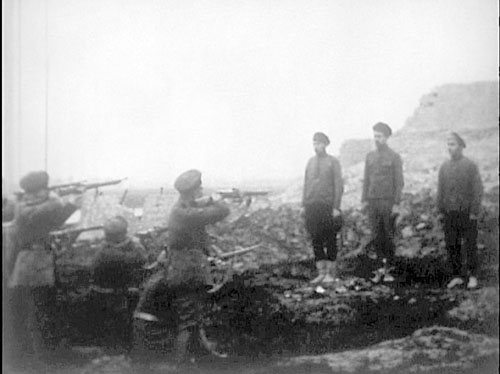 shooting the bolsheviks