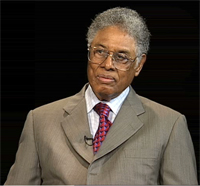 "thomas sowell discusses his essay "" trickle down theory and tax  thomas sowell discusses his essay "" trickle down theory and tax cuts for the rich "" institution"
