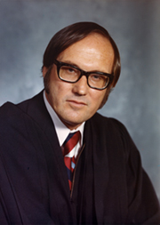 Official photograph of Justice Rehnquist taken in 1972