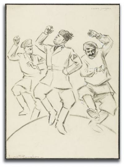 Dictators Dance, by Dutch artist Louis Raemaekers