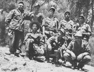 Arnold Beichman with National Liberation Front