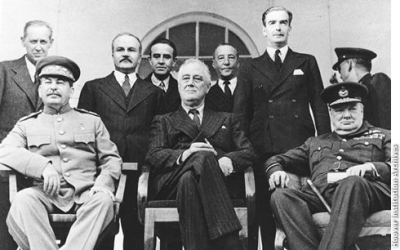 "The ""Big Three""—Stalin, FDR, and Churchill"