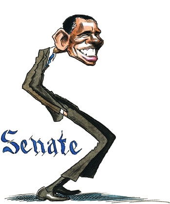 S is for the Senate, whence Obama comes. A political alphabet by Tunku Varadarajan.