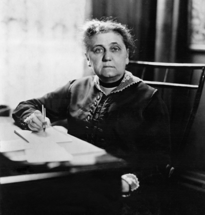 In 1919, Jane Addams was elected president of the Women's International League for Peace and Freedom