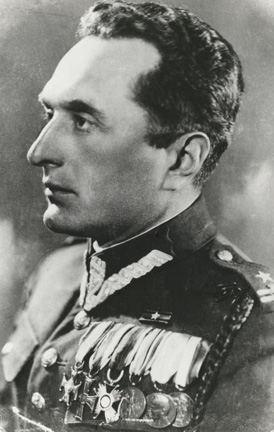 Major Adam Solski was the quartermaster of the 57th Infantry Regiment from Poznan.