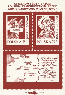 Polish Protest Stamps