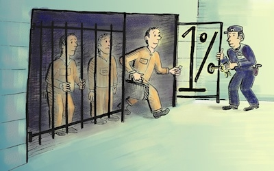 the bottom one percent prisoners david henderson
