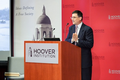 Eric Wakin, director of the Hoover Institution Library & Archives, introduces Stephen Kotkin